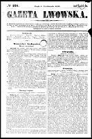 Gazeta Lwowska, R.46, nr 226 (1 października 1856)