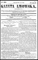 Gazeta Lwowska, R.46, nr 224 (27 września 1856)
