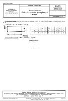 Narzędzia medyczne - Kołki do zamków przetykanych - Wymiary BN-73/5902-03 - Ośrodek Badawczo-Rozwojowy Techniki Medycznej (oprac.)