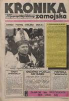 Kronika Zamojska. Rok II. Nr 16 (52 (22 kwietnia 1992)