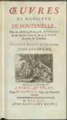 Œuvres De Monsieur De Fontenelle [...]. T. 4. Nouvelle Edition Augmentee. - Fontenelle, Bernard le Bovier de (1657-1757)