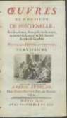 Œuvres De Monsieur De Fontenelle [...]. T. 6. Nouvelle Edition Augmentee. - Fontenelle, Bernard le Bovier de (1657-1757)