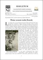 Biuletyn Koła Miłośników Dziejów Grudziądza 2019, Rok VII nr 6(583) : Wojna oczami małej Tereski - Loewenau, Teresa ; Sobolewski, Andrzej