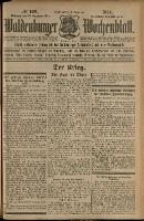 Waldenburger Wochenblatt, Jg. 60, 1914, nr 169