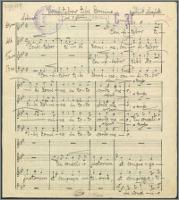 Confitebor tibi Domine : na 8 głosów [chór mieszany] - Moczyński, Zygmunt (1871-1940)