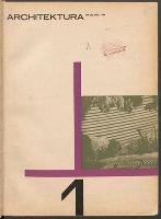 Architektura. 1965 nr 1 = 206 (styczeń) - Stowarzyszenie Architektów Polskich