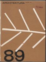 Architektura. 1965 nr 8-9 = 213-214 (sierpień-wrzesień) - Stowarzyszenie Architektów Polskich