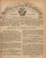 Der Bote aus dem Riesen-Gebirge, 1864, Jg. 52, Nr. 51
