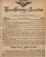 Tost-Gleiwitzer Kreisblatt, 1877, Jg. 35, St. 33