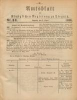 Amtsblatt der Königlichen Regierung zu Liegnitz, 1890, Jg. 80, Nr. 14
