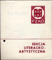 Sekcja Literacko-Artystyczna : XXX lat PZKO