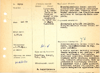 File of histopathological evaluation of nervous system diseases (1966) - nr 40/66 - Department of Experimental and Clinica lNeuropathology MMRI