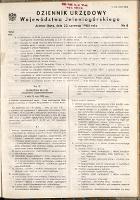 Dziennik Urzędowy Województwa Jeleniogórskiego, 1985, nr 8