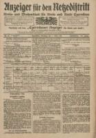 Anzeiger für den Netzedistrikt Kreis- und Wochenblatt für Kreis und Stadt Czarnikau 1911.03.07 Jg.59 Nr29