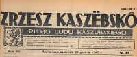 Zrzesz Kaszëbskô : pismo Ludu Kaszubskiego, 1945.12.20 nr 34