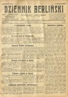 Dziennik Berliński, 1928, R. 32, nr 145
