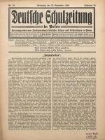 Deutsche Schulzeitung in Polen, 1935/1936, Jg. 16, Nr. 12