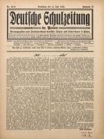 Deutsche Schulzeitung in Polen, 1935/1936, Jg. 16, Nr. 10/11