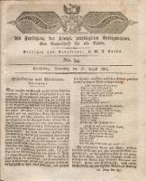 Der Bote aus dem Riesen-Gebirge, 1825, Jg. 12, No. 34