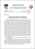 Biuletyn Koła Miłośników Dziejów Grudziądza 2013, Rok XI, nr 24(364): Polski Biały Krzyż na Pomorzu z uwzględnieniem Koła w Grudziądzu