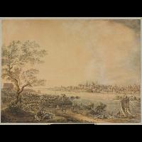 Widok Warszawy od strony Pragi - Vogel, Zygmunt (1764-1826)