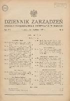 Dziennik Zarządzeń Dyrekcji Okręgowej Kolei Państwowych w Poznaniu. 1937.04.06 Nr2 - Polskie Koleje Państwowe