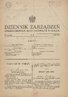 Dziennik Zarządzeń Dyrekcji Okręgowej Kolei Państwowych w Poznaniu. 1933.01.23 Nr1 - Polskie Koleje Państwowe