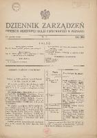 Dziennik Zarządzeń Dyrekcji Okręgowej Kolei Państwowych w Poznaniu. 1932.10.18 Nr7 - Polskie Koleje Państwowe