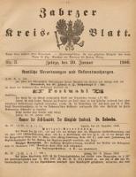 Zabrzer Kreis-Blatt, 1900, St. 3