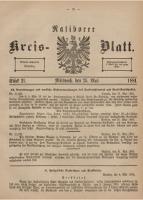 Ratiborer Kreis-Blatt, 1881, Stück 21