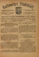 Kattowitzer Stadtblatt, 1918, Jg. 11, nr16