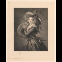 La Dame au Manchon, stan ostateczny - Jasiński, Feliks Stanisław (1862-1901)
