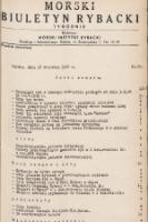 Morski Biuletyn Rybacki : tygodnik. 1948, nr60