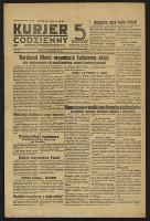 Kurjer Codzienny 5 Groszy. 1939, nr 260A (20 września). - Wyd. wieczorne