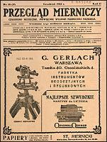 Przegląd Mierniczy 1925 nr 12