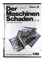 Der Maschinen-Schaden Jg. 60 Nr. 2 (1987)