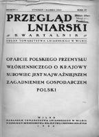 Przegląd Lniarski : kwartalnik : organ Towarzystwa Lniarskiego w Wilnie R. 9 z. 3 (1938)
