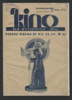 Kino dla Wszystkich : dwutygodnik poświęcony obronie interesów kinematografii polskiej R. 10, 1934 nr 23/24