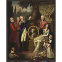 Portret rodziny Prozorów - Smuglewicz, Franciszek (1745-1807)
