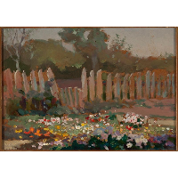 Ogródek wiejski - Stanisławski, Jan (1860-1907)