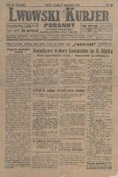 Lwowski Kurjer Poranny : dziennik niezależny. 1930, nr99