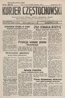 Kurjer Częstochowski : niezależny dziennik polityczny, społeczny, gospodarczy iliteracki. 1933, nr79