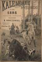 Kalendarz myśliwski ilustrowany na rok 1895