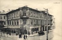 Lublin, ul. Krakowskie Przedmieście 27. Cukiernia A. K. Semadeni
