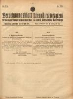 Verordnungsblatt für das Generalgouvernement Warschau, 1918, Nr.113