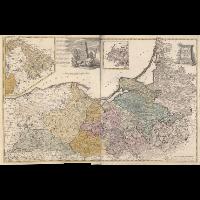 Borusiae Occidentalis Tabula - Güssefeld, Franz Ludwig