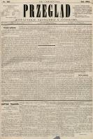 Przegląd polityczny, społeczny i literacki. 1885, nr135