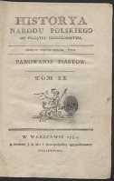 Historya narodu polskiego od początku chrześcianstwa. T. 2, Panowanie Piastow - Naruszewicz, Adam (1733-1796)