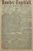 Konitzer Tageblatt.Amtliches Publikations=Organ, nr133