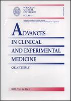 Advances in Clinical and Experimental Medicine, Vol. 22, 2013, nr 5